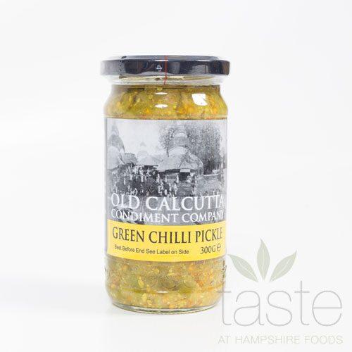 Old Calcutta Green Chilli Pickle